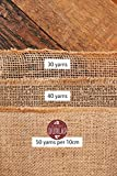 """Burlap Table Runners ~ 12"""" Wide X 10 Yards Long"""
