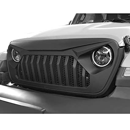 Jeep Matte Black >> Extreme Off Road Matte Black Vader Grille For Jeep Wrangler Jl Jlu 2018 2019