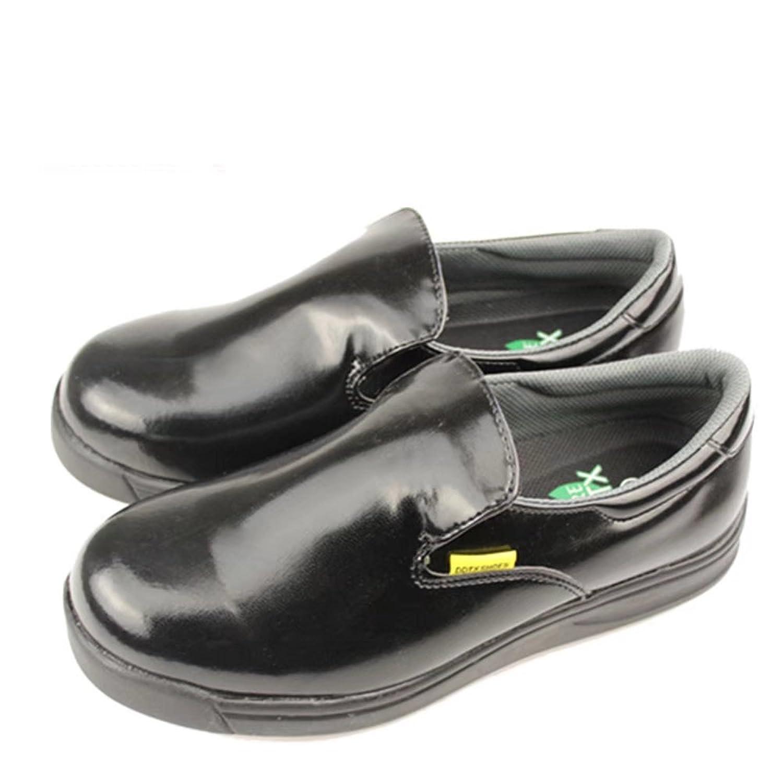 DDTX Unisex-Adult'Slip y Aceite Resistente a la Industria Ligera Zapatos de la Industria Negro(41) V1ObBH1Yl