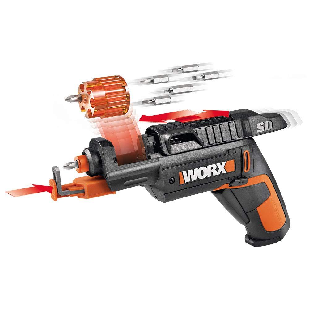 WORX WX255L SD Semi-Automatic Power Screw Driver with Screw Holder by WORX