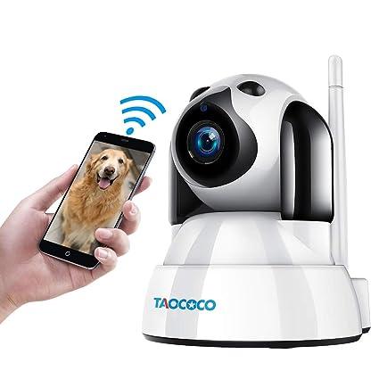 TAOCOCO Dog Pet Camera Cat WiFi IP Camera Wireless Surveillance