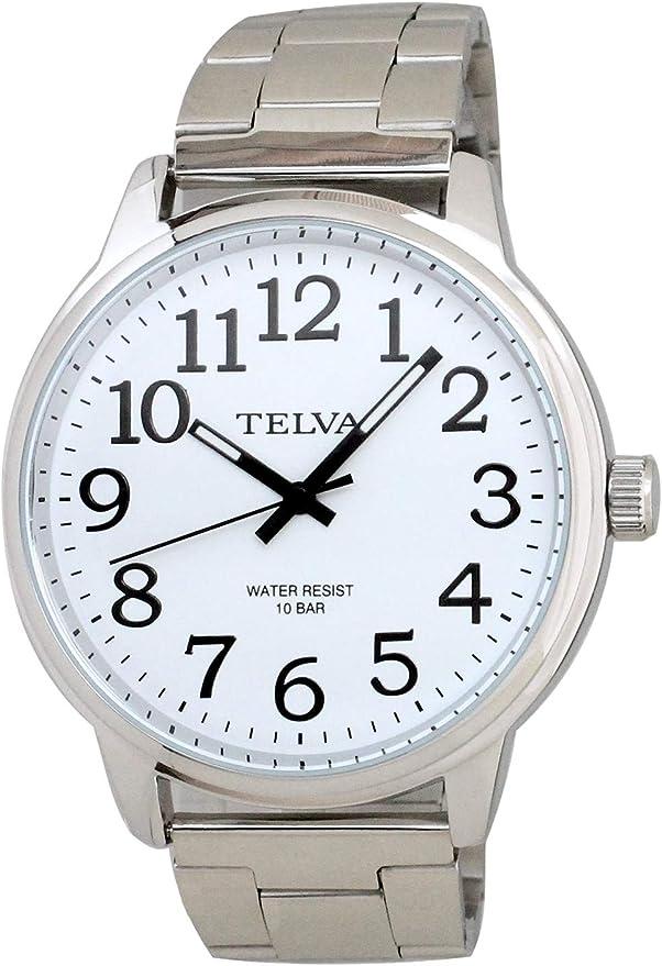[クレファー] 腕時計 テルバ TE-AM014-WTS メンズ シルバー