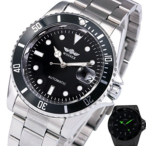 black dial stainless - 3