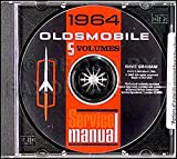 1964 Oldsmobile CD-ROM Repair Shop Manual