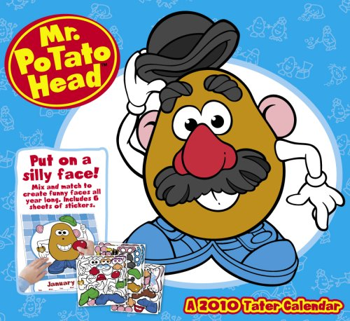 Mr. Potato Head 2010 Activity Wall Calendar