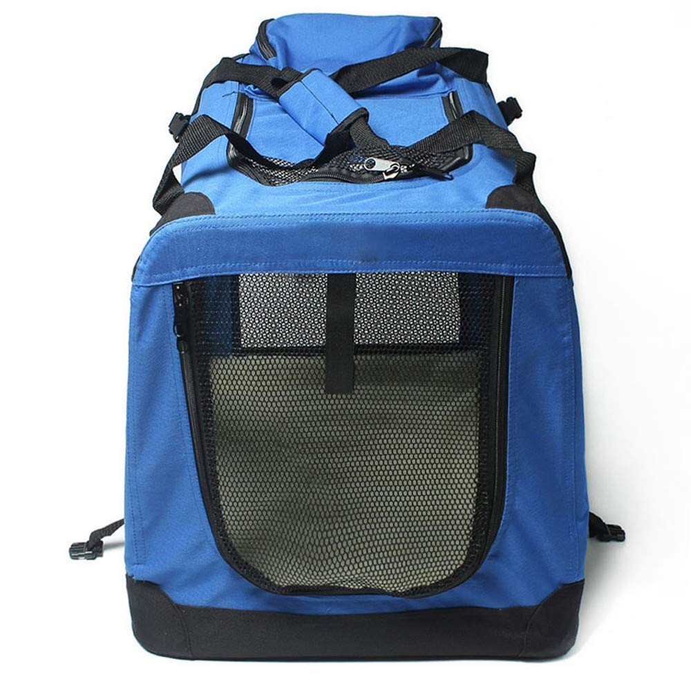 Yiopk Outing Carrying Case Pet Bag Handbag Car Bag Outing Travel Cage Folding Dog Cage