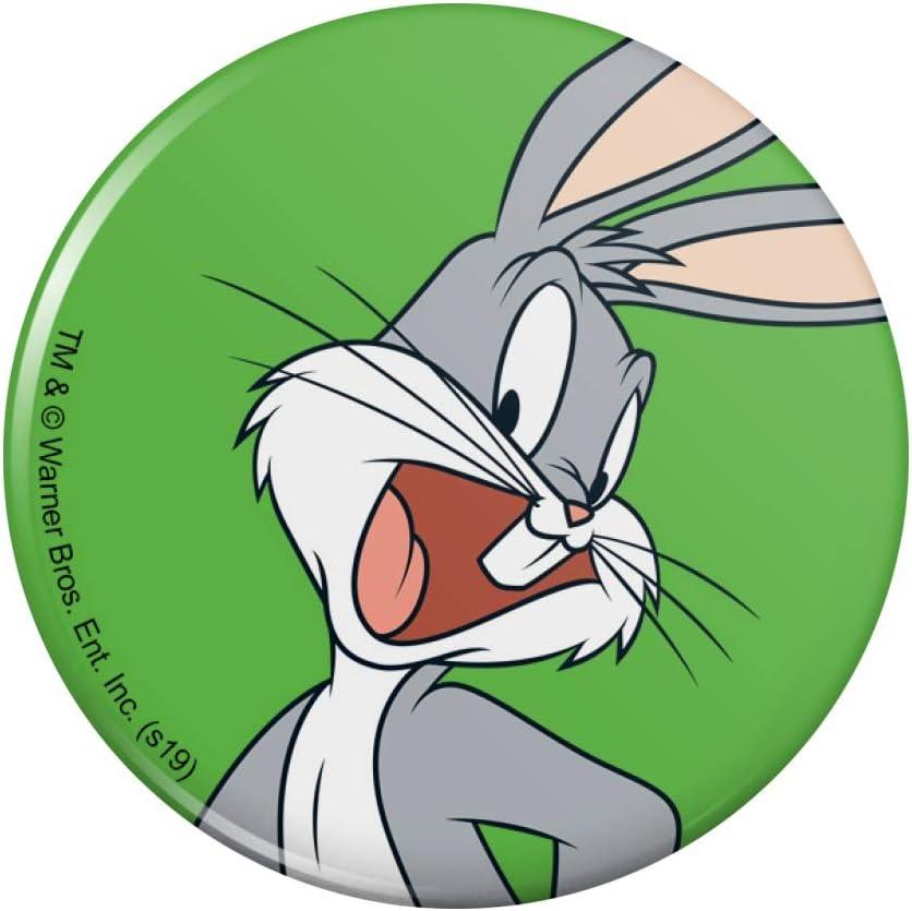 Looney Tunes Bugs Bunny Kitchen Refrigerator Locker Button Magnet