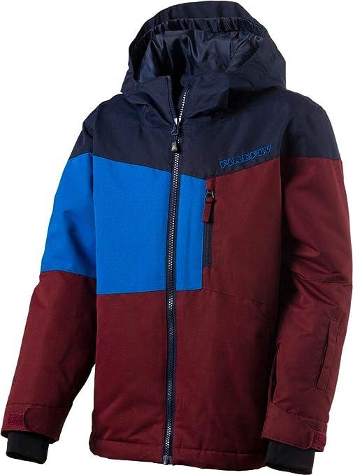 Firefly Kinder Snowboard Ski Jacke Carter blau rot: Amazon