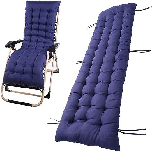 Tumbona sillón reclinable Lounge de almohadilla cojín Patio jardín ...