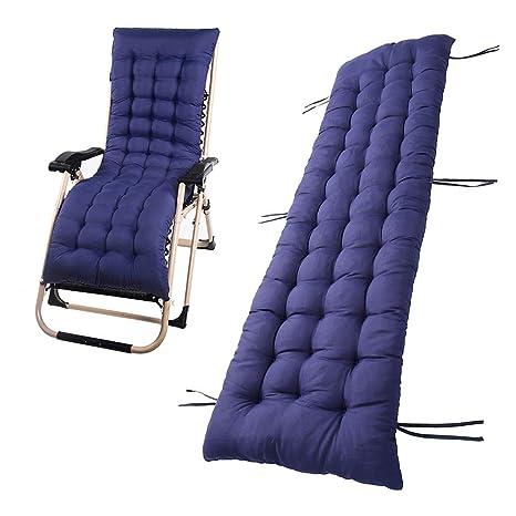Tumbona sillón reclinable Lounge de almohadilla cojín Patio jardín hamaca al aire libre cubierta