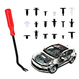 Manfiter 415 Pcs Car Retainer Clips and Push
