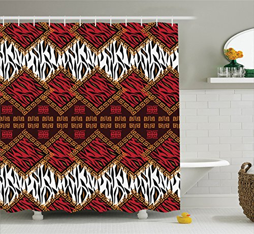 red and brown decor - 9
