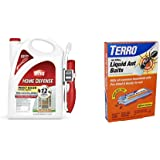 Ortho 0220910 Home Defense Insect Killer for Indoor & Perimeter2 with Comfort Wand Bonus Size, 1.1 GAL & TERRO T300B…