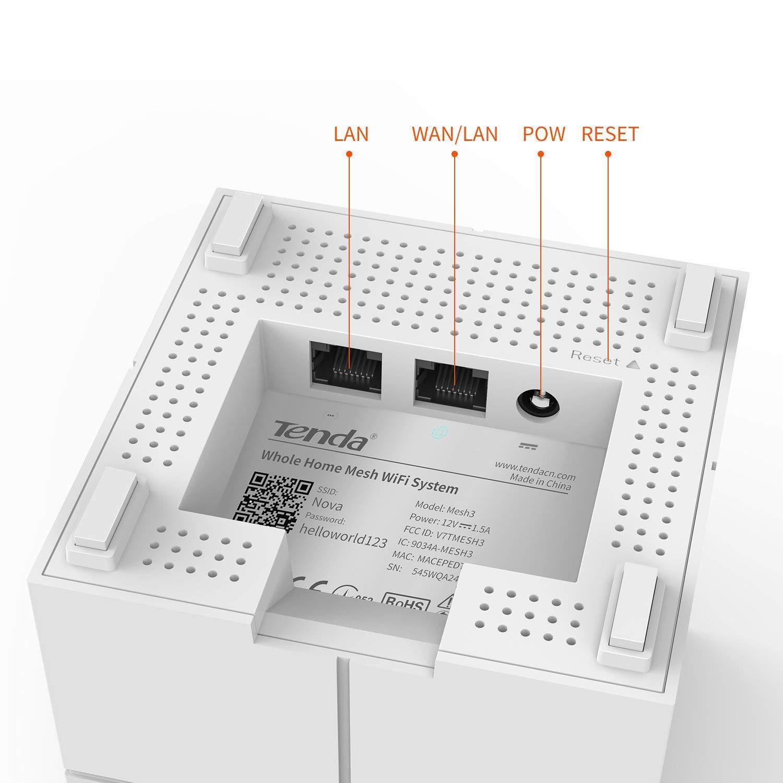 2pk Nova Mw6 Mesh Wifi Coverage Up To 4000sq.Ft by Tenda (Image #2)