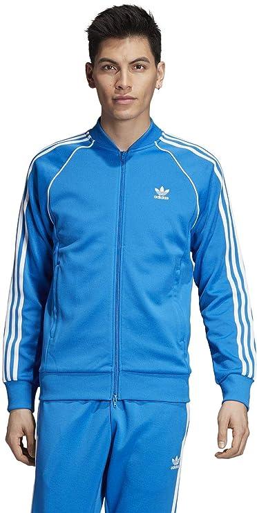 adidas SST TT Sudadera, Hombre, Bluebird, XL: Amazon.es: Ropa y ...
