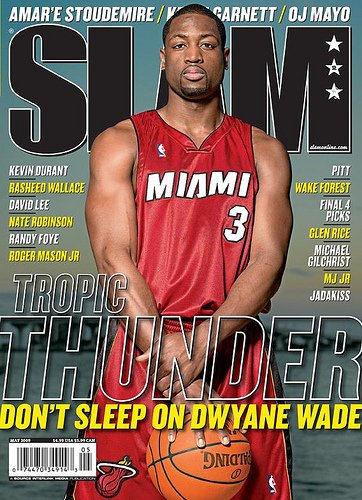 SLAM Magazine: Dwayne Wade (April 2009)