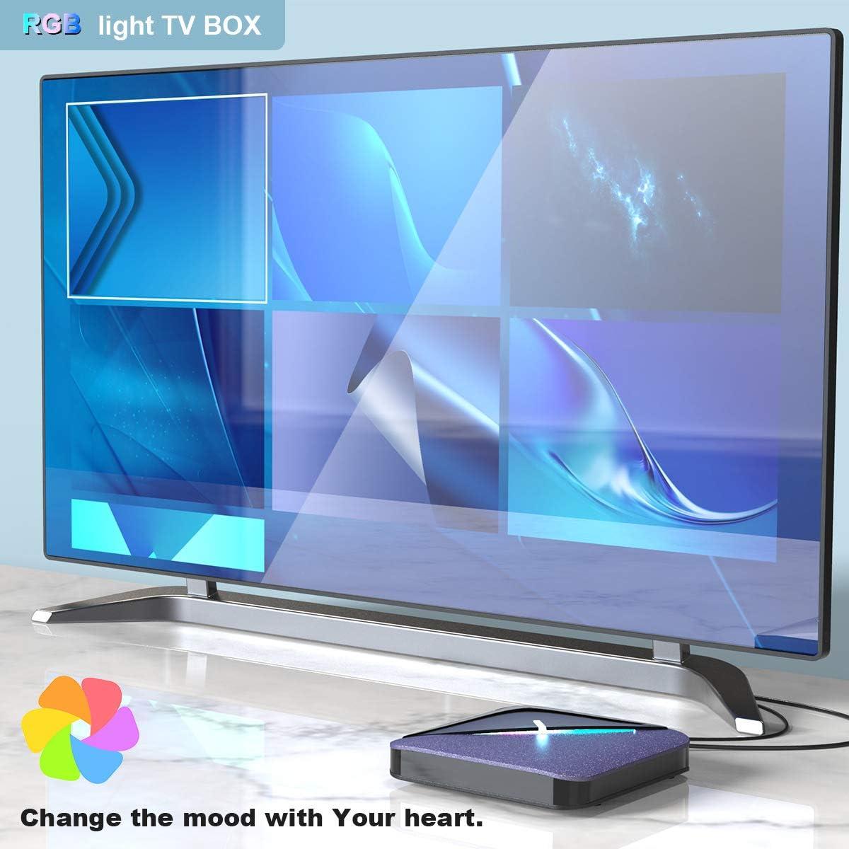 Sophia Caja de TV, 4g + 32gS905x3 Set-Top Box 8K Red de decodificación Caja androide TV Box: Amazon.es: Deportes y aire libre
