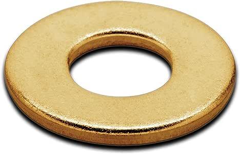 70 3//8 X 1.0 FLAT WASHER SOLID BRASS 1 pound Box