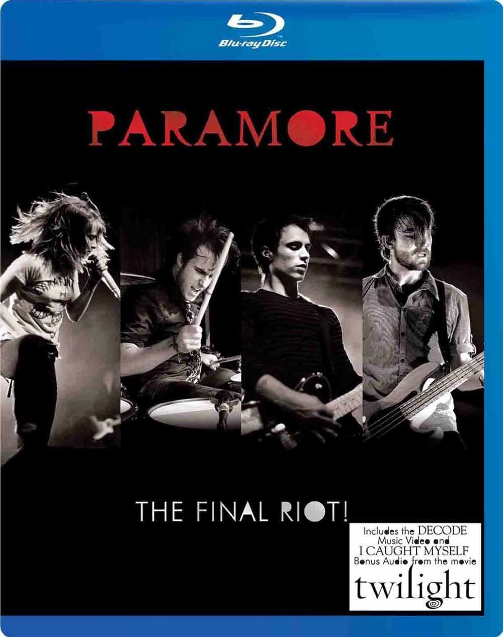 Paramore Final Riot! [Blu-ray] eOne Films Distribution Pop Rock Concerts