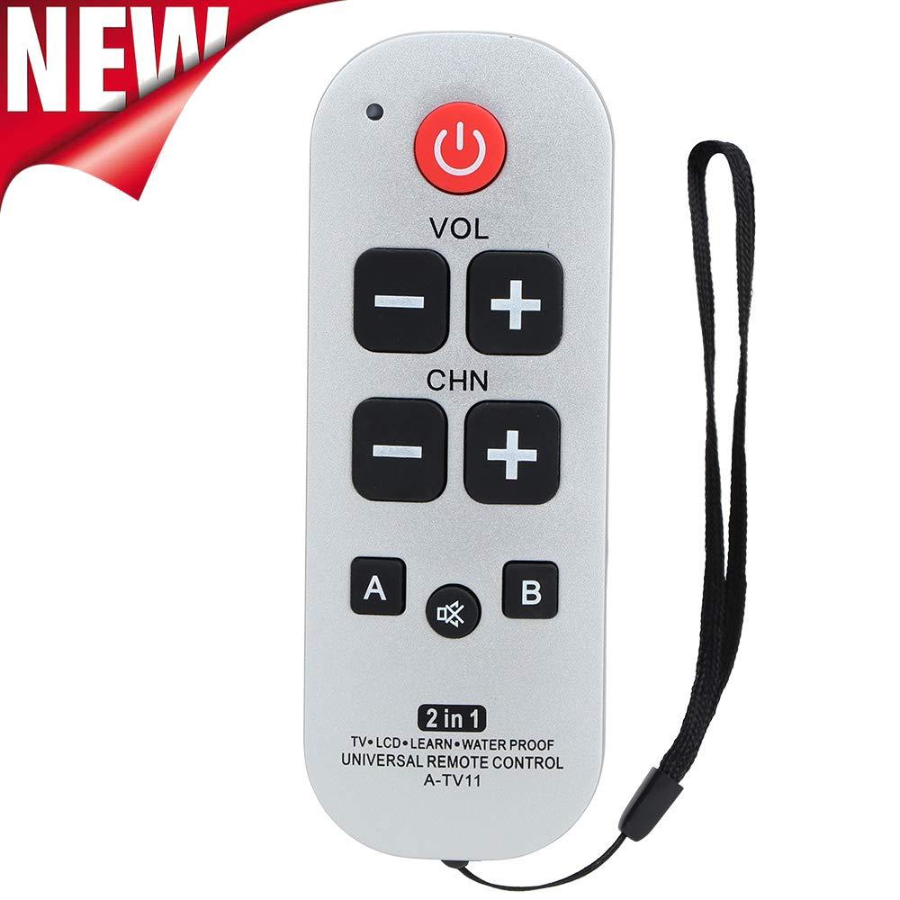 Gvirtue A-TV11 Big Button Universal Remote Control for