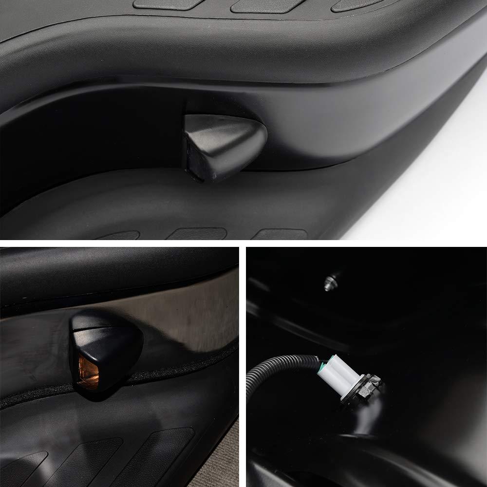Black Rear Steel Step Bumper Assembly GM1103122 For 1999-2006 Chevrolet Silverado GMC Sierra 1500//1999-2004 GMC Sierra 2500