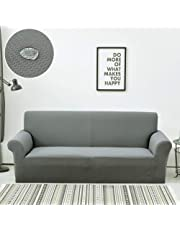 Protector de muebles de alta elasticidad para mascotas, perros, todas las temporadas, sofá antideslizante Cojín de tiro Funda de sofá Funda de sofá para sofá en forma de u-1 2 3 4 asiento-G 2 plazas (57-73 pulgadas)