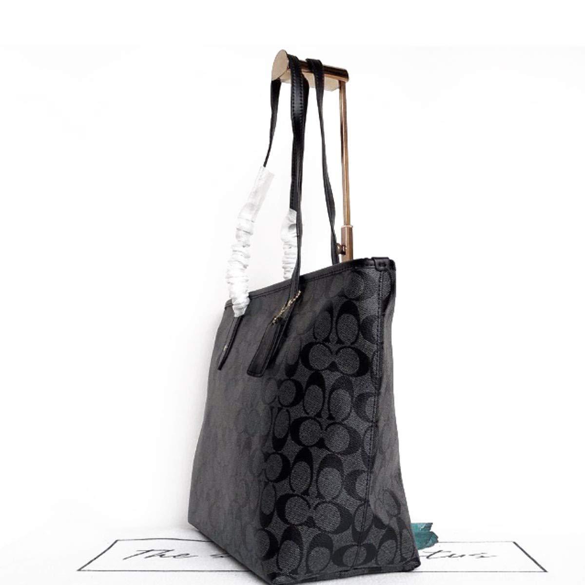 LIYANJIN-ShoulderBags kvinnor handväska, kvinnor anteckningar väska PU läder topphandtag väska axelväska (29 x 27 x 14 cm) Röd