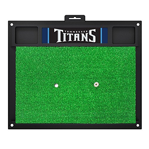 NFL Tennessee Titans Golf Hitting Mat Golf Practice Accessory