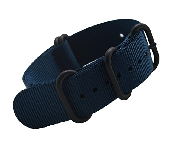 420966338a6 MetaStrap 22mm Nylon Watch Band NFC Strap