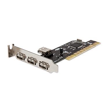 Amazon.com: SYBA – Tarjeta PCI de perfil bajo 3 Port USB 2.0 ...