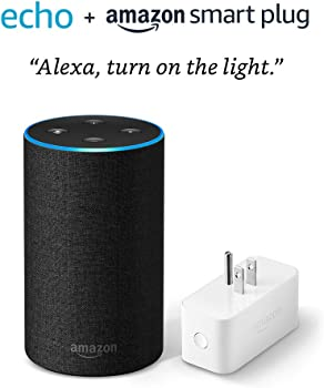 Amazon Echo 2nd Generation Smart Speakers + Amazon Smart Plug