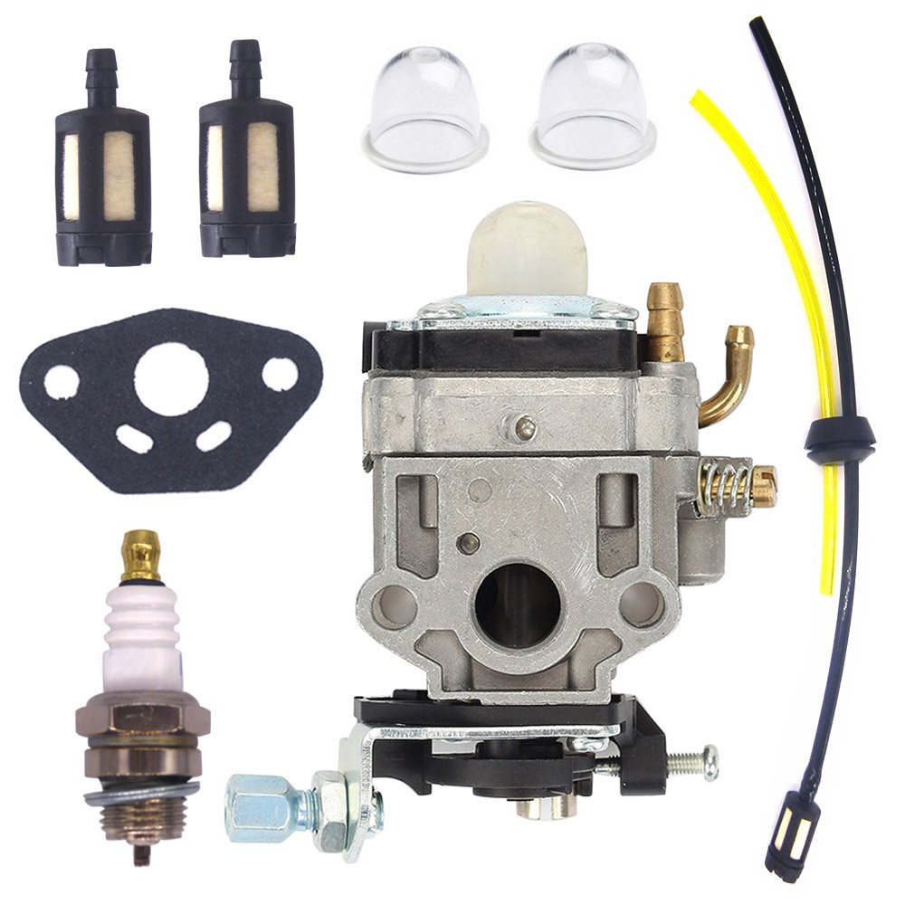 NIMTEK New Carburetor for Walbro WYJ-138 WYK-186 Echo PB-260L SRM- 260S SRM -261S PPT-260 PPT-261 SHC-260 SHC-261 SHC 260 261 Power Blower Leaf Blower