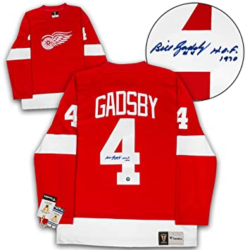 0f2cd7d98 ... promo code image unavailable. image not available for. color bill  gadsby detroit red wings