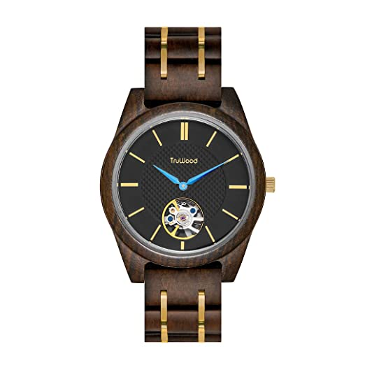 Amazon.com: TruWood Titan Zeus Wooden Watch with Black Sandalwood for Men: Watches