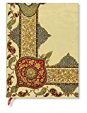 Visions of Paisley Ivory Kraft Ultra Flexi Lined Journal by Paperblanks (4469-7)