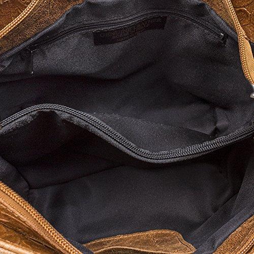 Bag Artegiani Firenze Tote Women's Leather Black wxn7Y