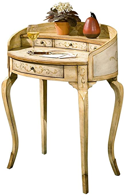 Butler specality company BUTLER 1335041 DAMOSEL TUSCAN CREAM HAND PAINTED LADIES  WRITING DESK - Amazon.com: Butler Specality Company BUTLER 1335041 DAMOSEL TUSCAN