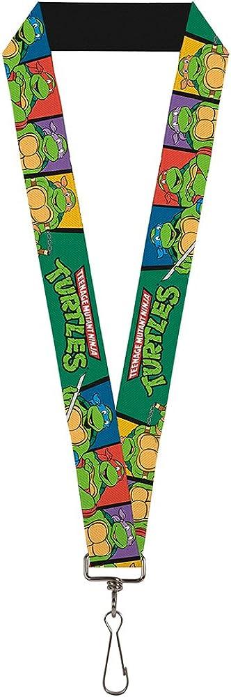 Buckle-Down Lanyard - Ninja Turtles