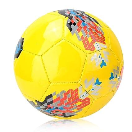 VGEBY1 Balón de fútbol tamaño 5, fútbol de Entrenamiento de PU ...