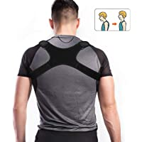 Charminer Posture Corrector Spinal Support -Back&Shoulder&Neck Pain Relief and Support Belt-Adjustable Posture Brace for Improve Bad Posture | Thoracic Kyphosis Brace | Posture Support for Men Women