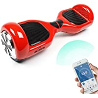 """Bluefin 6.5"""" Self Balancing Scooter,Red (Red)"""