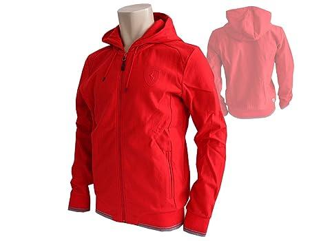 73115ce3cb2c Puma Scuderia Ferrari F1 Sweatshirt Jacket with Hood Red Formula 1 Fan  Merchandise Hoody
