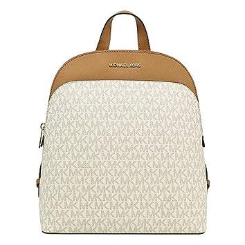 f9d4ba16f260 Amazon.com | MICHAEL Michael Kors Emmy Large Leather Signature ...