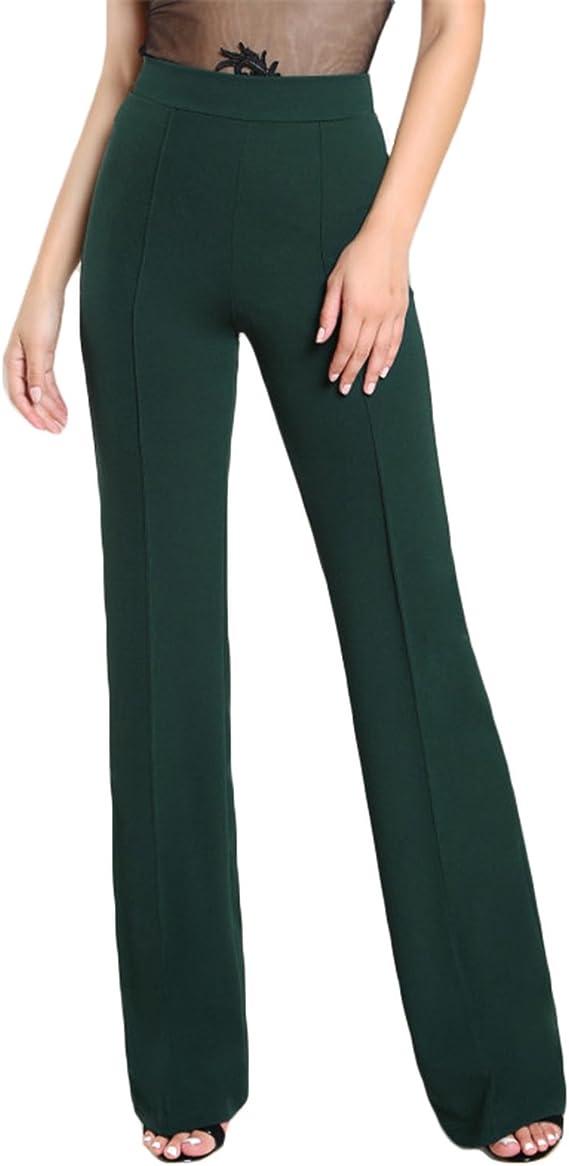Private Space Aurelie Pantalones De Vestir De Alta Resistencia Color Verde Militar Elegantes Para Mujer Y Trabajo Cintura Alta Cierre F Verde Ejercito M Amazon Com Mx Ropa Zapatos Y Accesorios
