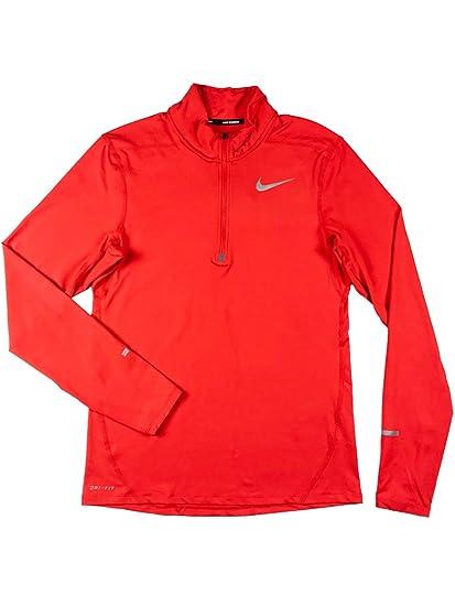 324b46e1b NIKE Dri-Fit Element Mens 1/2 Zip Top at Amazon Men's Clothing store: