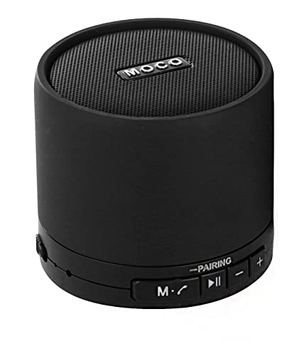 bb19ad7034b37c Moco Best Mini Wireless Bluetooth Speaker with Built-In Microphone,  Portable, Compact Design