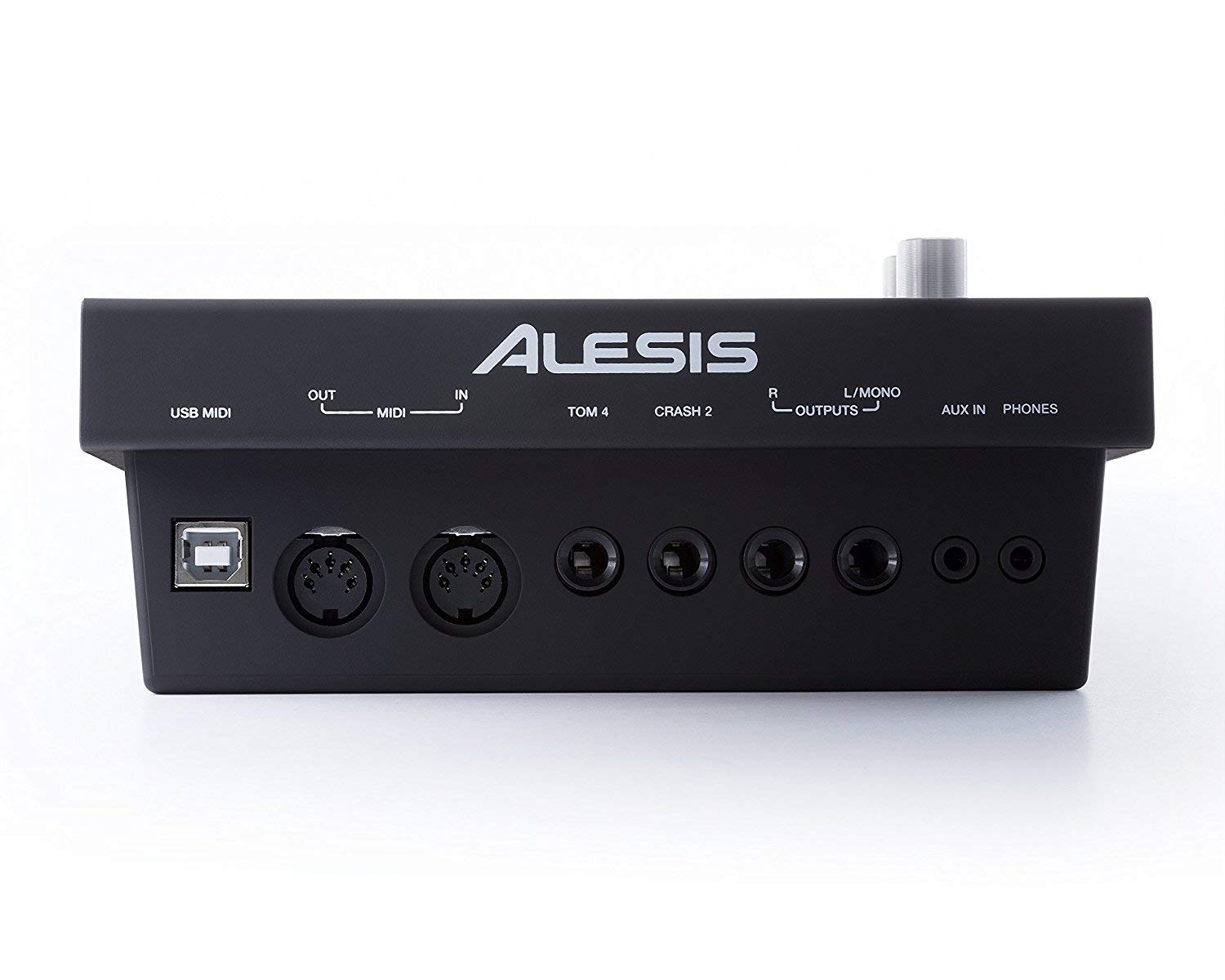 Alesis COMMAND MESH KIT Eight-Piece Electronic Drum Kit with Pair of Drumsticks + Samson SR550 Studio Headphones + Hosa 3.5 mm Interconnect Cable, 10 feet - Deluxe Accessory Bundle by Alesis (Image #8)