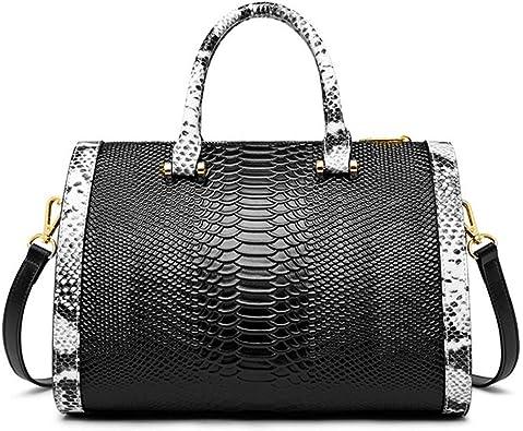 Luxury Totes Alligator Boston Bags Women Crocodile Pattern Handbag Shoulder Bag