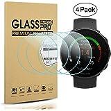 Diruite 4-Pack for Polar Vantage M/Polar Vantage V Screen Protector Tempered Glass [2.5D 9H Hardness] [Anti-Scratch] [Bubble-Free]