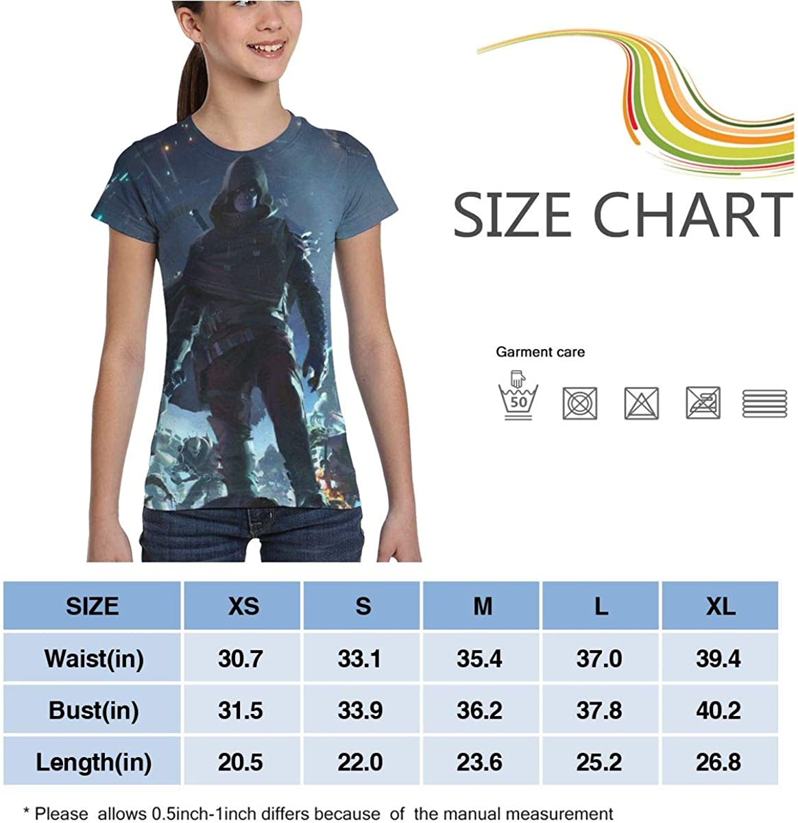 Des Tiny for Saken Girls T Shirt Short Sleeve Summer Tee 3D Printing Fashion Tops